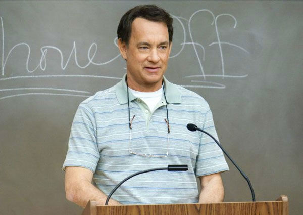 Tom Hanks, who recently starred in &#39;Larry Crowne,&#39; earned &#36;35 million between May 2010 and May 2011, putting him in fifth place on  Forbes&#39; list of highest-earning actors. A big part of the sum comes from voicing Woody in &#34;Toy Story 3,&#34; which became the highest-grossing animated film of all time. He&#39;s set to co-star with Sandra Bullock in the film adaptation of the novel &#39;Extremely Loud and Incredibly Close,&#34; set to hit theaters on November 30. <span class=meta>(Vendome Pictures)</span>