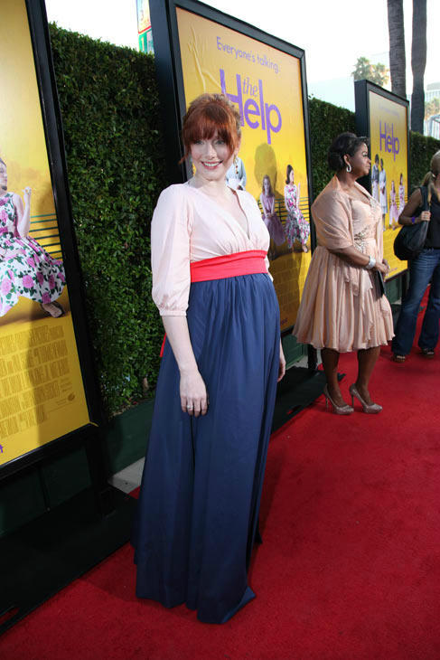Star Bryce Dallas Howard arrives at the world premiere of DreamWorks Pictures' and Participant Media's 'The Help' on Monday, August 9, 2011 at the Academy of Motion Picture Arts and Sciences in Beverly Hills, CA. 'The Help' opens in U.S. theaters on Augus