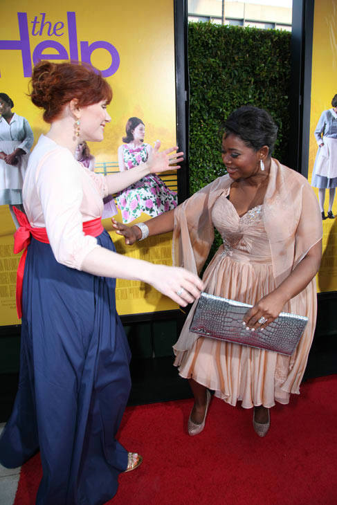 "<div class=""meta image-caption""><div class=""origin-logo origin-image ""><span></span></div><span class=""caption-text"">Stars Bryce Dallas Howard and Octavia Spencer arrive at the world premiere of DreamWorks Pictures' and Participant Media's 'The Help' on Monday, August 9, 2011 at the Academy of Motion Picture Arts and Sciences in Beverly Hills, CA. 'The Help' opens in U.S. theaters on August 10, 2011. (Photo/Alex J. Berliner)</span></div>"