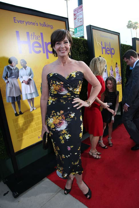 Star Allison Janney arrives at the world...