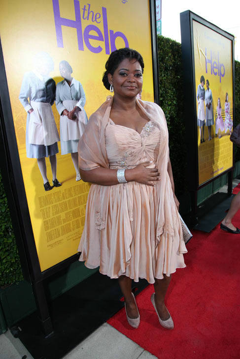 Star Octavia Spencer arrives at the world...