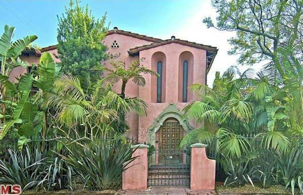 Rose McGowan&#39;s former home, located in the Loz Feliz neighborhood of Los Angeles, which was built in 1928 and has 4 bedrooms and 3 bathrooms. The Spanish-style home was sold for &#36;1.7 million in May 2011. <span class=meta>(MLS &#47; Realtor.com)</span>