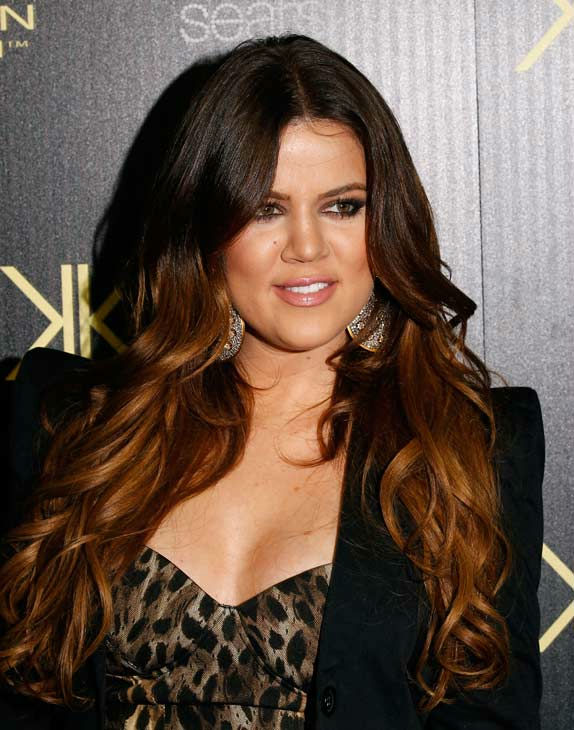 Khloe Kardashian arrives at the Kard