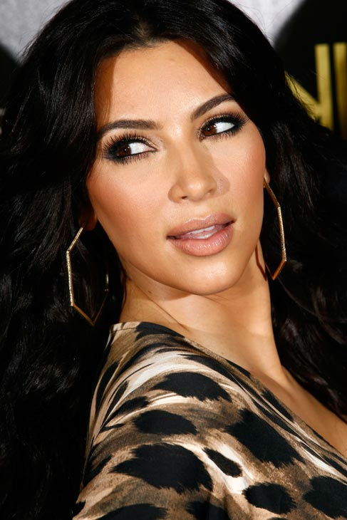 "<div class=""meta ""><span class=""caption-text "">Kim Kardashian arrives at the Kardashian Kollection launch party in Los Angeles, Wednesday, Aug. 17, 2011. The Kardashian Kollection designed by the Kardashian sisters is available at Sears. (AP Photo/ Matt Sayles)</span></div>"