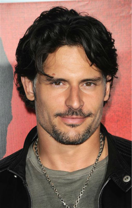 The &#39;The-Hair-Want-To-Touch&#39; stare: Joe Manganiello appears at the &#39;Scarface&#39; DVD and Blu-Ray release party in Los Angeles on Aug. 23, 2011. <span class=meta>(Sara De Boer &#47; Startraksphoto.com)</span>