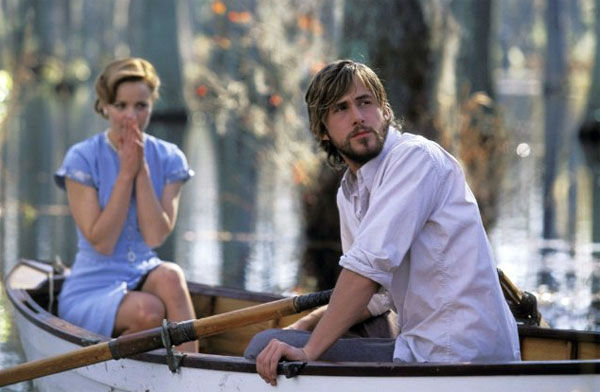 Ryan Gosling and Rachel McAdams appear in a scene from the 2004 film &#39;The Notebook.&#39; <span class=meta>(New Line Cinema)</span>