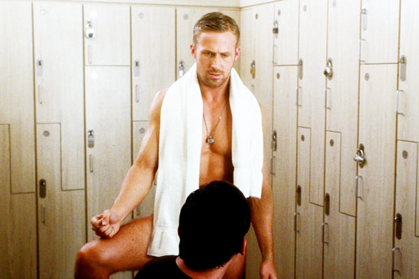 Ryan Gosling and Steve Carell appear in a scene from the 2011 film ' Crazy, Stupid, Love.'