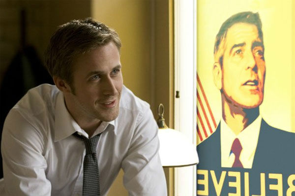 Ryan Gosling appears in a scene from the 2011 film 'The Ides of March.'
