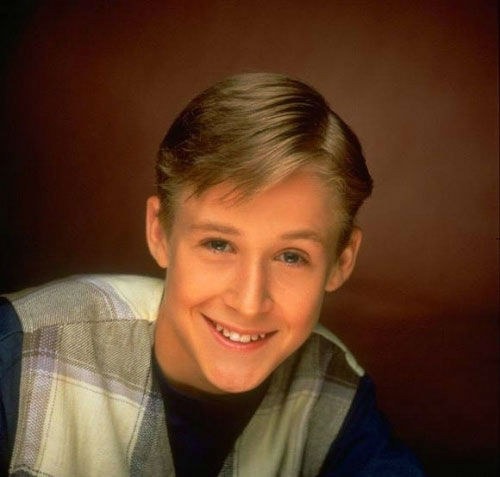 Ryan Gosling appears in a promotional photo from the television series 'The All-New Mickey Mouse Club.' Gosling was on the series from 1993 to 1995. The actor co-starred alongside future celebrities like Britney Spears, Justin Timberlake, Christina Aguile