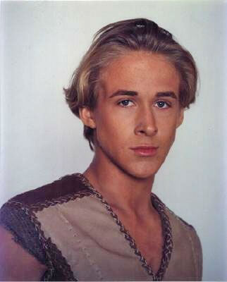Ryan Gosling appears in a promotional photo from the television series &#39;Young Hercules.&#39; The series ran from 1998 to 1999. Gosling played the title hero.  <span class=meta>(Renaissance Pictures)</span>