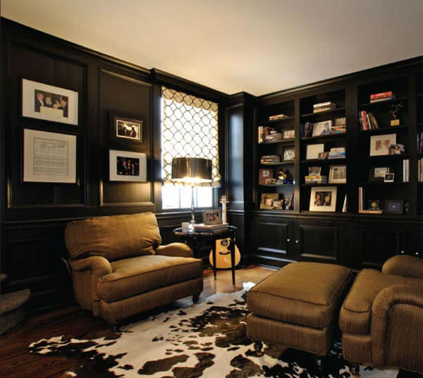 The library in Taylor Swift's four-bedroom,...