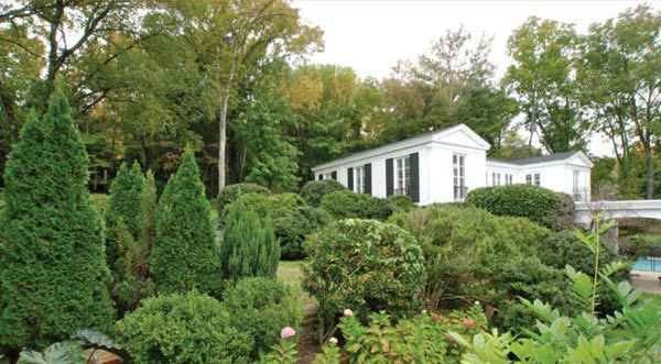 The grounds of Taylor Swift's four-bedroom,...