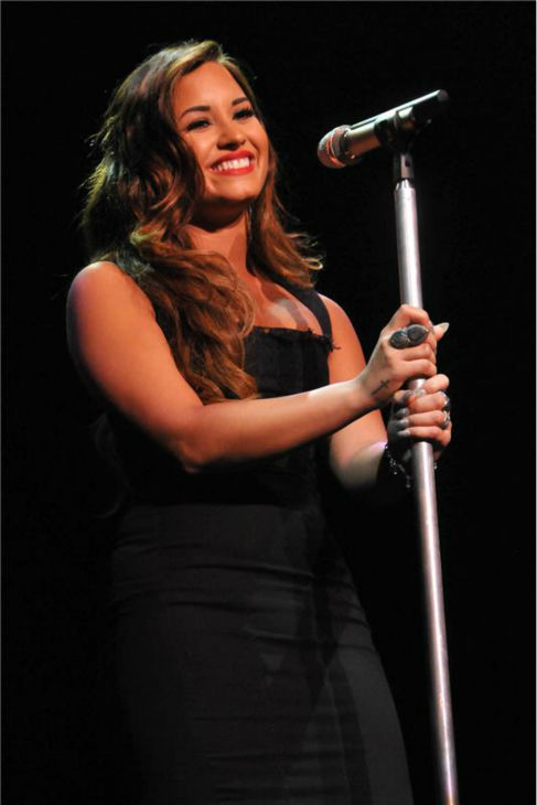 Demi Lovato performs at Perez Hilton&#39;s One Night in Los Angeles party on Aug. 28, 2011. <span class=meta>(Tony DiMaio &#47; startraksphoto.com)</span>