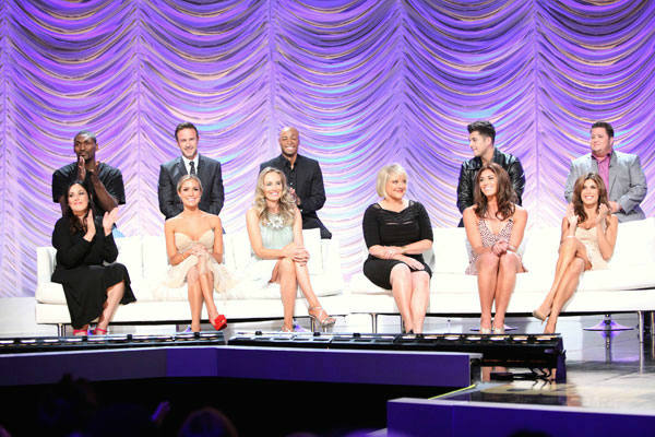 Ron Artest, David Arquette, J.R. Martinez, Rob Kardashian, Chaz Bono, Ricki Lake, Kristin Cavallari, Chynna Phillips, Nancy Grace, Hope Solo and Elisabetta Canalis appear at the cast announcement for season 13 of &#39;Dancing With The Stars&#39; on August 29, 2011. <span class=meta>(ABC Photo&#47; Adam Taylor)</span>