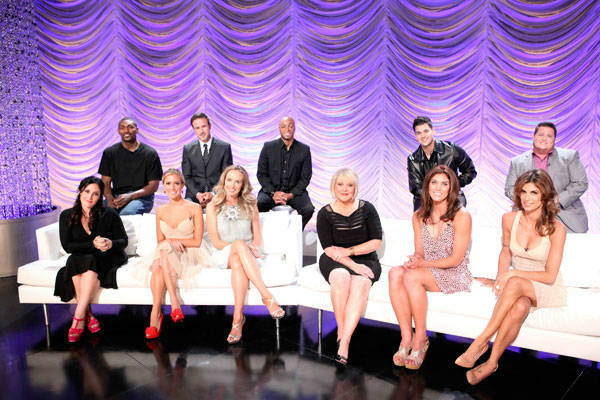 Ron Artest, David Arquette, J.R. Martinez, Rob Kardashian, Chaz Bono, Ricki Lake, Kristin Cavallari, Chynna Phillips, Nancy Grace, Hope Solo and Elisabetta Canalis appear at the cast announcement for season 13 of 'Dancing With The Stars' on August 29, 201