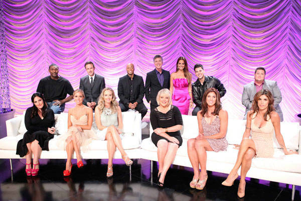 Ron Artest, David Arquette, J.R. Martinez, Rob Kardashian, Chaz Bono, Ricki Lake, Kristin Cavallari, Chynna Phillips, Nancy Grace, Hope Solo, Elisabetta Canali, Tom Bergeron and Brooke Burke Charvet appear at the cast announcement for season 13 of &#39;Dancing With The Stars&#39; on August 29, 2011. <span class=meta>(ABC Photo&#47; Adam Taylor)</span>