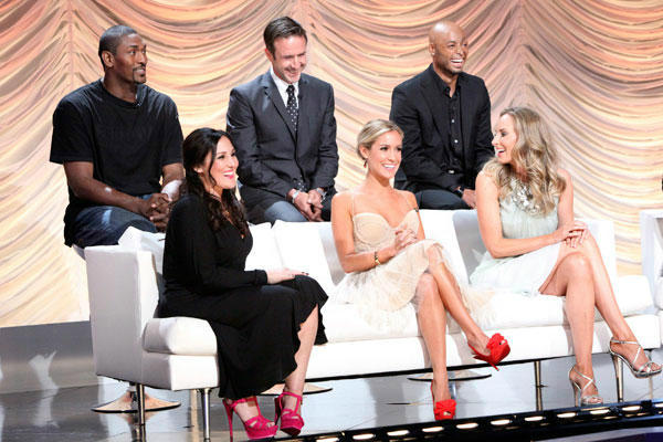 Ron Artest, Ricki Lake, David Arquette, Kristin Cavallari, J.R. Martinez and Chynna Phillips appear at the cast announcement for season 13 of 'Dancing With The Stars' on August 29, 2011.
