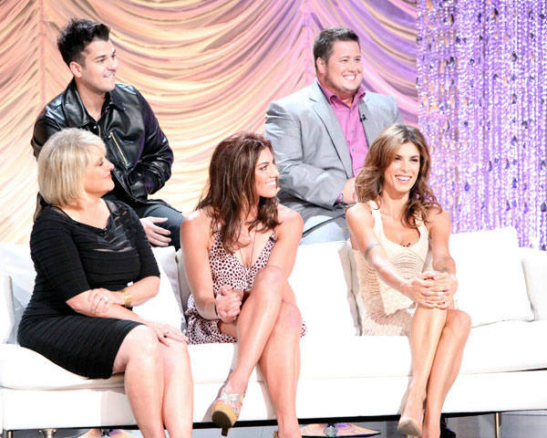 Nancy Grace, Rob Kardashian, Chaz Bono, Hope Solo and Elisabetta Canalis appear at the cast announcement for season 13 of 'Dancing With The Stars' on August 29, 2011.