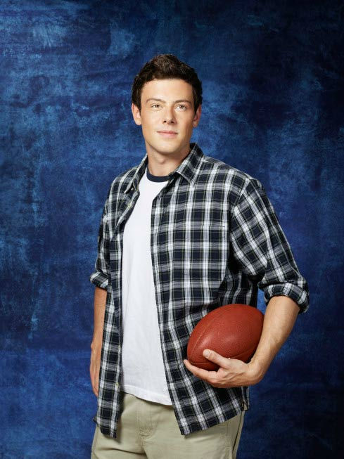 "<div class=""meta ""><span class=""caption-text "">Cory Monteith returns as Finn Hudson in Season Three of 'Glee,' which premieres on Tuesday, September 20 at 8 p.m. ET on FOX. (FOX / Danielle Levitt)</span></div>"