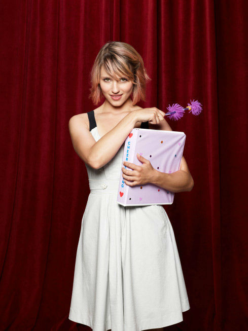 "<div class=""meta ""><span class=""caption-text "">Dianna Agron returns as Quinn Fabray in Season Three of 'Glee,' which premieres on Tuesday, September 20 at 8 p.m. ET on FOX.  (FOX / Danielle Levitt)</span></div>"