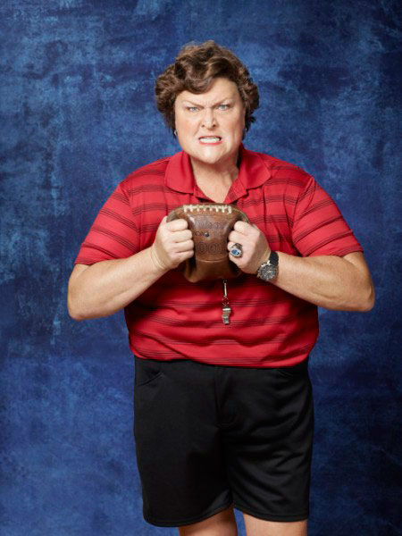 "<div class=""meta ""><span class=""caption-text "">Dot-Marie Jones returns as Coach Shannon Beiste in Season Three of 'Glee,' which premieres on Tuesday, September 20 at 8 p.m. ET on FOX. (FOX / Danielle Levitt)</span></div>"