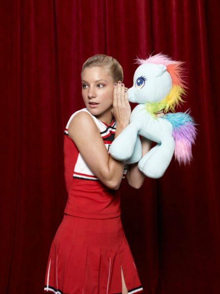 "<div class=""meta ""><span class=""caption-text "">Heather Morris returns as Brittany Pierce in Season Three of 'Glee,' which premieres on Tuesday, September 20 at 8 p.m. ET on FOX. (FOX / Danielle Levitt)</span></div>"