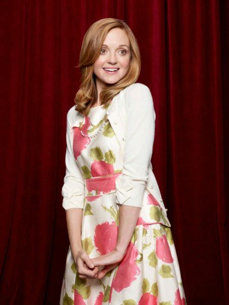 "<div class=""meta ""><span class=""caption-text "">Jayma Mays returns as Emma Pillsbury in Season Three of 'Glee,' which premieres on Tuesday, September 20 at 8 p.m. ET on FOX. (FOX / Danielle Levitt)</span></div>"