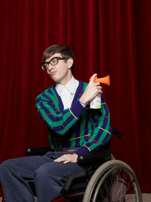 "<div class=""meta ""><span class=""caption-text "">Kevin McHale returns as Artie Abrams in in Season Three of 'Glee,' which premieres on Tuesday, September 20 at 8 p.m. ET on FOX. (FOX / Danielle Levitt)</span></div>"