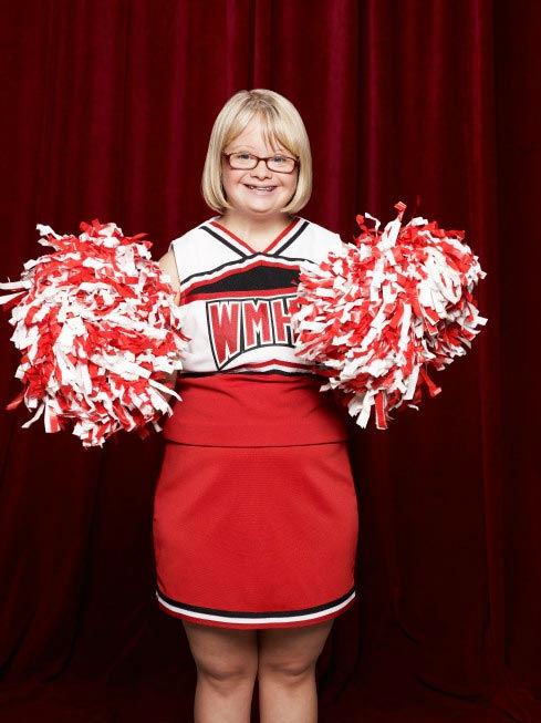 "<div class=""meta ""><span class=""caption-text "">Lauren Potter returns as Becky Jackson in Season Three of 'Glee,' which premieres on Tuesday, September 20 at 8 p.m. ET on FOX. (FOX / Danielle Levitt)</span></div>"