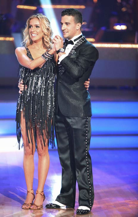 Reality Star Kristin Cavallari and her partner Mark Ballas received 19 out of 30 from the judges for their Cha Cha Cha on the season premiere of &#39;Dancing With The Stars.&#39; <span class=meta>(ABC Photo&#47; Adam Taylor)</span>