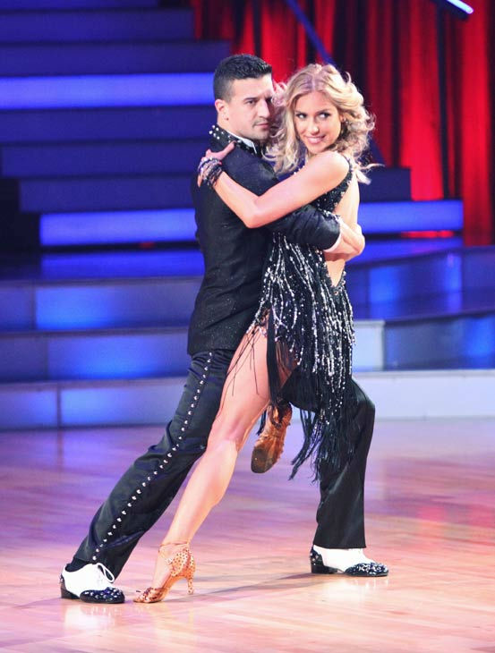 "<div class=""meta ""><span class=""caption-text "">Reality Star Kristin Cavallari and her partner Mark Ballas received 19 out of 30 from the judges for their Cha Cha Cha on the season premiere of 'Dancing With The Stars.' (ABC Photo/ Adam Taylor)</span></div>"
