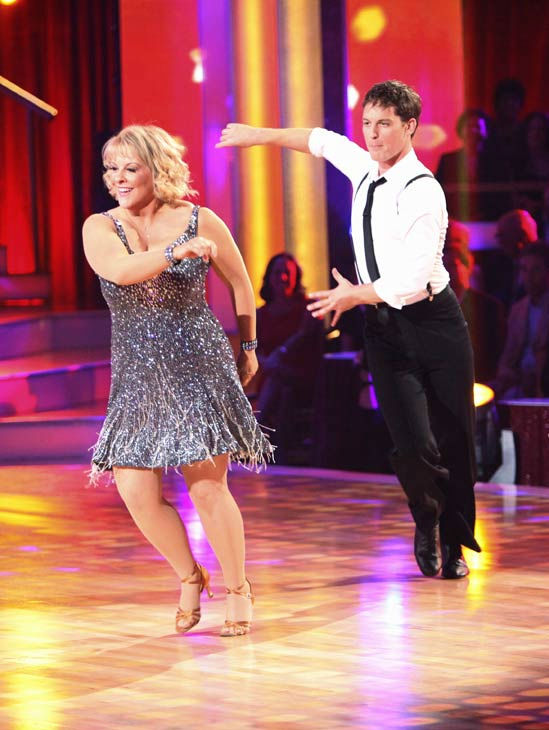 Television host Nancy Grace and her partner Tristan Macmanus received 16 out of 30 from the judges for their Cha Cha Cha on the season premiere of 'Dancing With The Stars.'