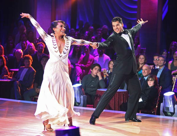 &#39;Keeping Up With The Kardashians&#39; star Rob Kardashian and his partner Cheryl Burke received 16 out of 30 from the judges for their Viennese Waltz on the season premiere of &#39;Dancing With The Stars.&#39; <span class=meta>(ABC Photo&#47; Adam Taylor)</span>