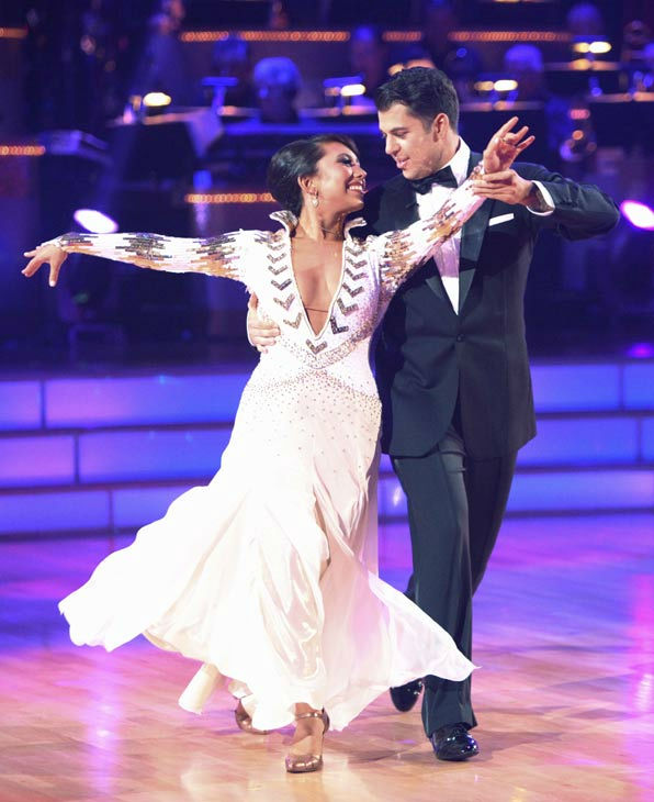 "<div class=""meta ""><span class=""caption-text "">'Keeping Up With The Kardashians' star Rob Kardashian and his partner Cheryl Burke received 16 out of 30 from the judges for their Viennese Waltz on the season premiere of 'Dancing With The Stars.' (ABC Photo/ Adam Taylor)</span></div>"