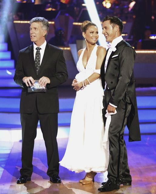 "<div class=""meta image-caption""><div class=""origin-logo origin-image ""><span></span></div><span class=""caption-text"">Actor David Arquette and his partner Kym Johnson received 18 out of 30 from the judges for their Viennese Waltz on the season premiere of 'Dancing With The Stars.' (ABC Photo/ Adam Taylor)</span></div>"