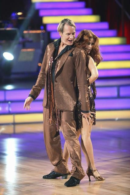 "<div class=""meta ""><span class=""caption-text "">Television personality Carson Kressley and his partner Anna Trebunskaya received 17 out of 30 from the judges for their Cha Cha Cha on the season premiere of 'Dancing With The Stars.' (ABC Photo/ Adam Taylor)</span></div>"