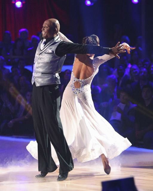 &#39;All My Children&#39; actor and Iraq War veteran J.R. Martinez and his partner Karina Smirnoff received 22 out of 30 from the judges for their Viennese Waltz on the season premiere of &#39;Dancing With The Stars.&#39; <span class=meta>(ABC Photo&#47; Adam Taylor)</span>