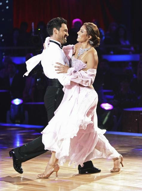 "<div class=""meta ""><span class=""caption-text "">U.S. soccer star Hope Solo and her partner Maksim Chmerkovskiy received 21 out of 30 from the judges for their Viennese Waltz on the season premiere of 'Dancing With The Stars.' (ABC Photo/ Adam Taylor)</span></div>"