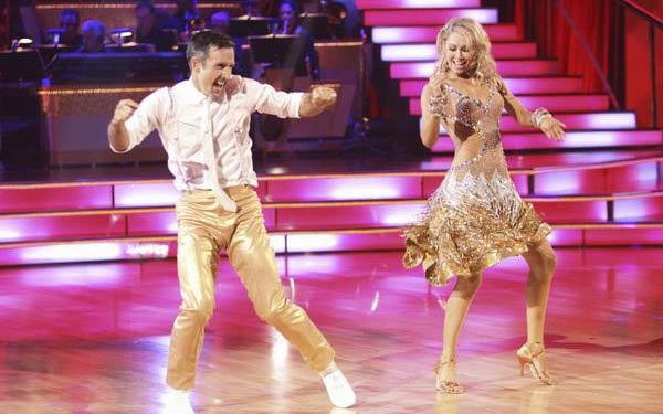 Actor David Arquette and his partner Kym Johnson received 18 out of 30 from the judges for their Jive on the September 26 episode of 'Dancing With The Stars.'