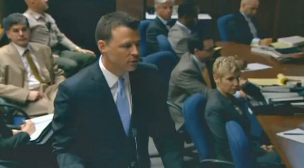 "<div class=""meta ""><span class=""caption-text "">Deputy District Attorney David Walgren delivers his opening statements on Sept. 27, 2011, in the trial of Dr. Conrad Murray, accused of killing Michael Jackson.  (OnTheRedCarpet)</span></div>"