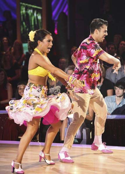 &#39;Keeping Up With The Kardashians&#39; star Rob Kardashian and his partner Cheryl Burke received 21 out of 30 from the judges for their Jive on the September 26 episode of &#39;Dancing With The Stars.&#39; <span class=meta>(ABC Photo)</span>