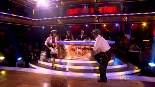 "<div class=""meta image-caption""><div class=""origin-logo origin-image ""><span></span></div><span class=""caption-text"">'All My Children' actor and Iraq War veteran J.R. Martinez and his partner Karina Smirnoff received 22 out of 30 from the judges for their Jive on the September 26 episode 'Dancing With The Stars.' (ABC Photo)</span></div>"