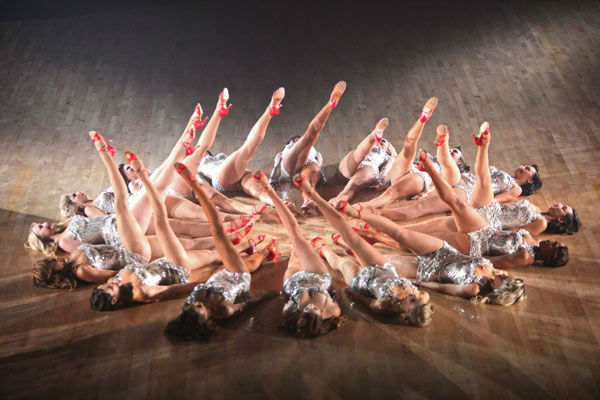 Tuesday&#39;s &#39;Macy&#39;s Stars of Dance&#39; performance, the first of the season, was a piece inspired by the late movie and musical choreographer Busby Berkeley on &#39;Dancing With The Stars: The Result Show&#39; on Tuesday, September 27, 2011. <span class=meta>(ABC Photo&#47; Adam Taylor)</span>