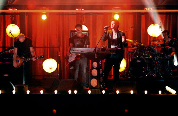 "<div class=""meta ""><span class=""caption-text "">The Script played on the 'Dancing With The Stars' stage with a live performance of 'For the First Time.' The song is off their sophomore album 'Science & Faith' on 'Dancing With The Stars: The Result Show' on Tuesday, September 27, 2011. (ABC Photo/ Adam Taylor)</span></div>"