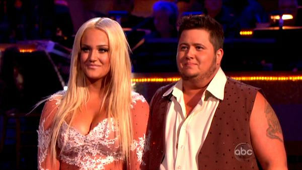 LGBT activist Chaz Bono and his partner Lacey Schwimmer received 18 points out of 30 from the judges for their Rumba on the October 3 episode of 'Dancing With The Stars.'