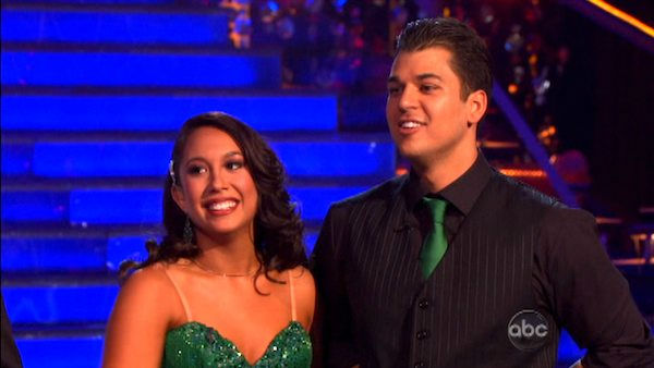 "<div class=""meta image-caption""><div class=""origin-logo origin-image ""><span></span></div><span class=""caption-text"">'Keeping Up With The Kardashians' star Rob Kardashian and his partner Cheryl Burke  received 24 out of 30 from the judges for their Fox Trot on the October 3 episode of  'Dancing With The Stars.' (ABC Photo)</span></div>"