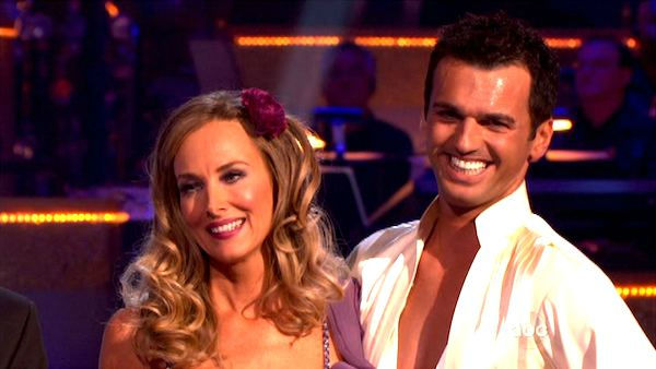 "<div class=""meta ""><span class=""caption-text "">Singer Chynna Phillips and her partner Tony Dovolani received 26 out of 30 from the  judges for their Rumba on the October 3 episode 'Dancing With The Stars.' (ABC Photo)</span></div>"