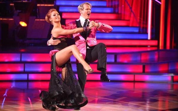 "<div class=""meta image-caption""><div class=""origin-logo origin-image ""><span></span></div><span class=""caption-text"">Television personality Carson Kressley and his partner Anna Trebunskaya received 23 out  of 30 from the judges for their Tango on the October 3 episode of 'Dancing With The  Stars.' (ABC Photo)</span></div>"