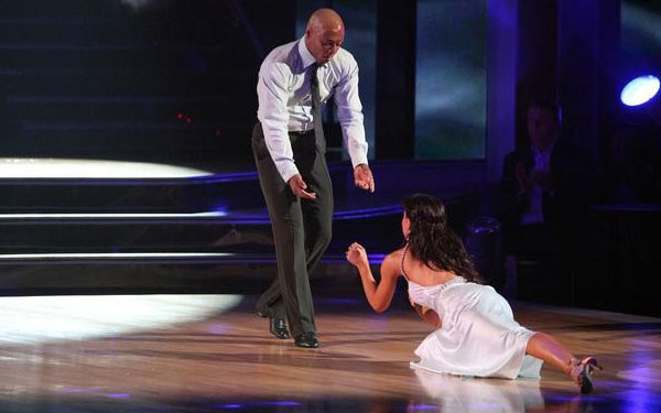 &#39;All My Children&#39; actor and Iraq War veteran J.R. Martinez and his partner Karina  Smirnoff received 26 out of 30 from the judges for their Rumba on the October 3 episode  &#39;Dancing With The Stars.&#39; <span class=meta>(ABC Photo)</span>
