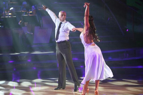 "<div class=""meta image-caption""><div class=""origin-logo origin-image ""><span></span></div><span class=""caption-text"">'All My Children' actor and Iraq War veteran J.R. Martinez and his partner Karina  Smirnoff received 26 out of 30 from the judges for their Rumba on the October 3 episode  'Dancing With The Stars.' (ABC Photo)</span></div>"